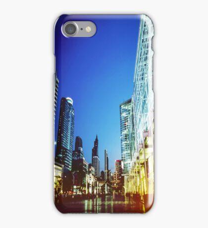 Bangkok city in twilight iPhone Case/Skin