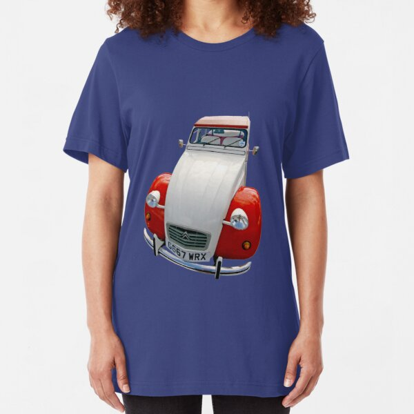 Citroen 2CV Dolly Slim Fit T-Shirt