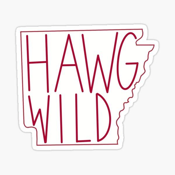 Hawg Wild Arkansas Sticker