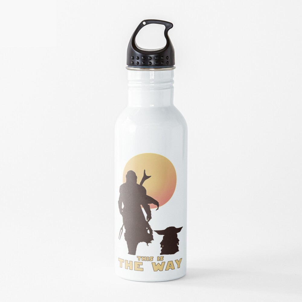 This is The Way  Water Bottle