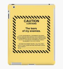 Caution. iPad Case/Skin