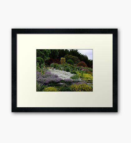 """""""Langleigh"""" Walcha Open Gardens 2012 Framed Print"""