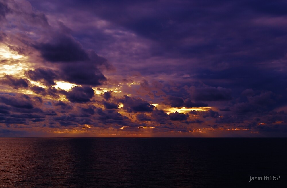 Sunset in the Gulf by jasmith162