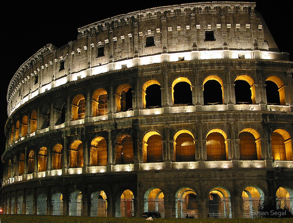 Colusseum. Rome, Italy by Susan Segal