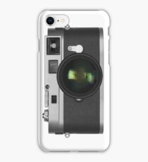 classic rangefinder camera iPhone Case/Skin