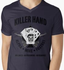 AK47-KILLER HAND Men's V-Neck T-Shirt