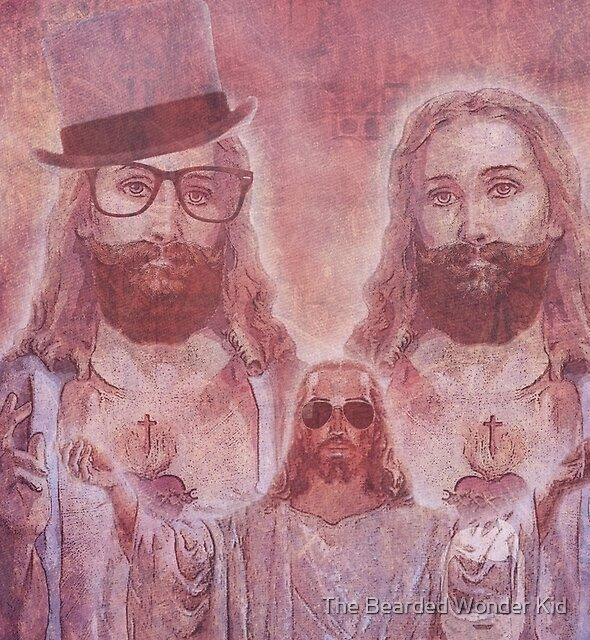 Jesus With Out The Brand by The Bearded Wonder Kid