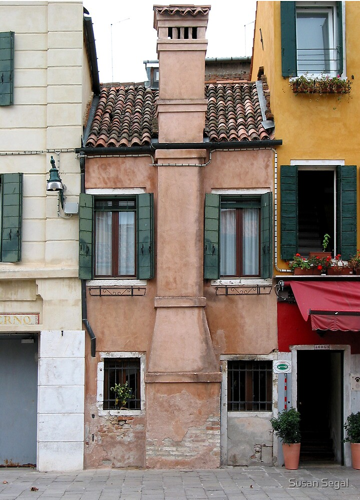 Venitian facade by Susan Segal