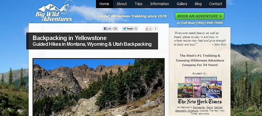 Yellowstone backpacking by mario-d-doyle