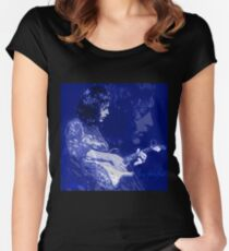 RORY GALLAGHER BLUESMAN Women's Fitted Scoop T-Shirt