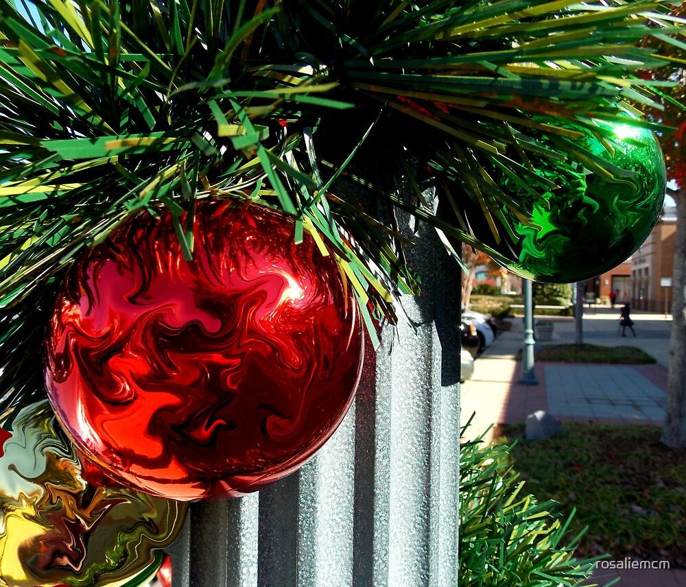 Christmas Bulbs by rosaliemcm