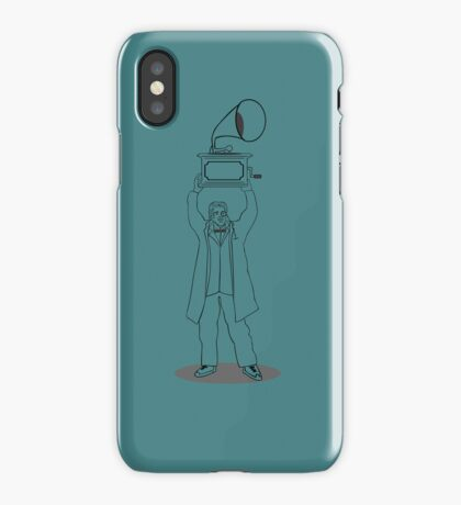 Sayeth Anything (Line Art) iPhone Case