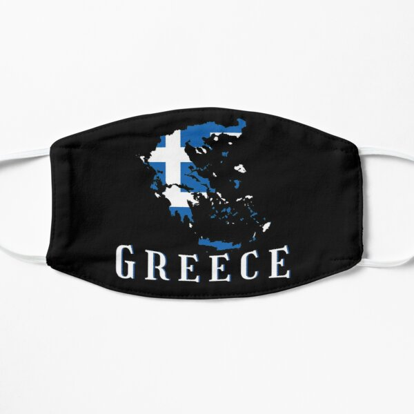 Greece National Country Flag Mask