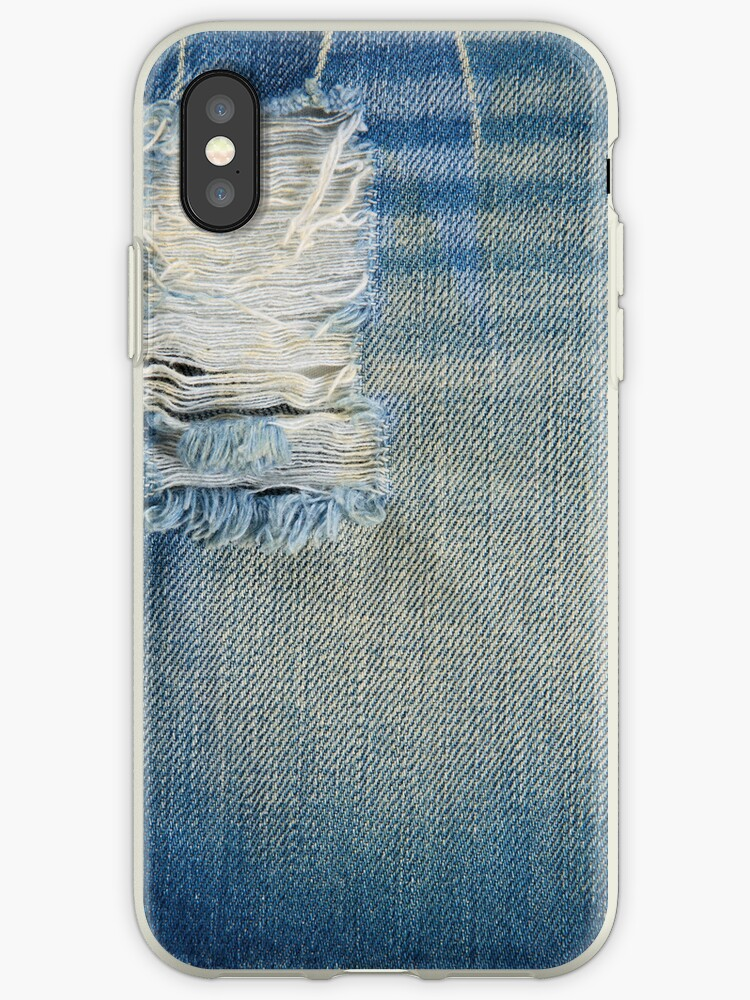 A Blue Jean Style Texture with Fabric Thread by scottorz