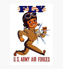 Fly Army Air Forces - WW2 Photographic Print