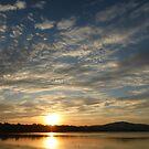 Inch Island Winter Sunset by Fara