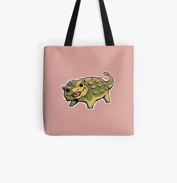 Ankylosaurus All Over Print Tote Bag