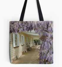 Woolmers Wisteria in Tasmania - A World Heritage Listed Site Tote Bag