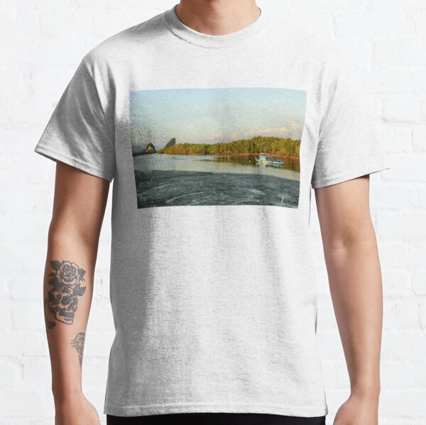Early evening on the Krabi river Classic T-Shirt