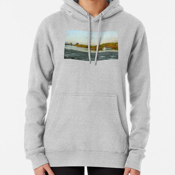 Early evening on the Krabi river Pullover Hoodie
