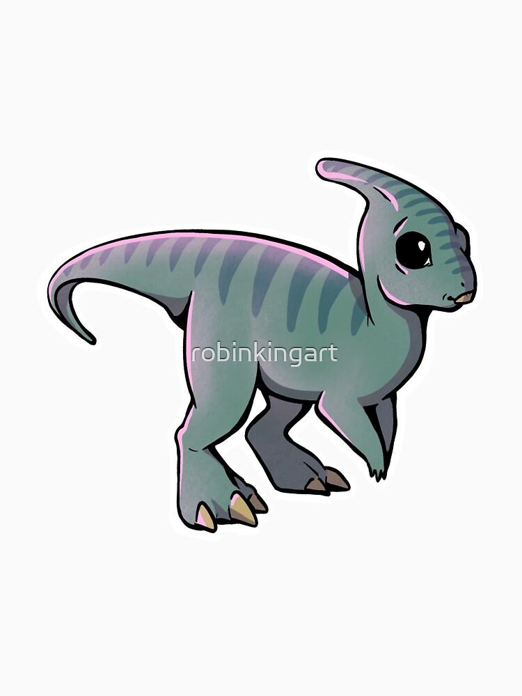 Parasaurolophus by robinkingart