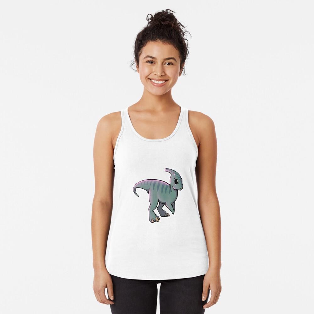 Parasaurolophus Racerback Tank Top