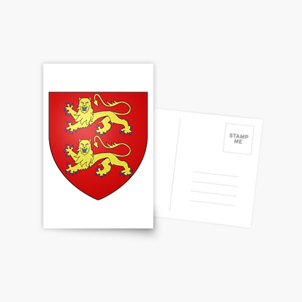 Coat of Arms of Normandy Postcard