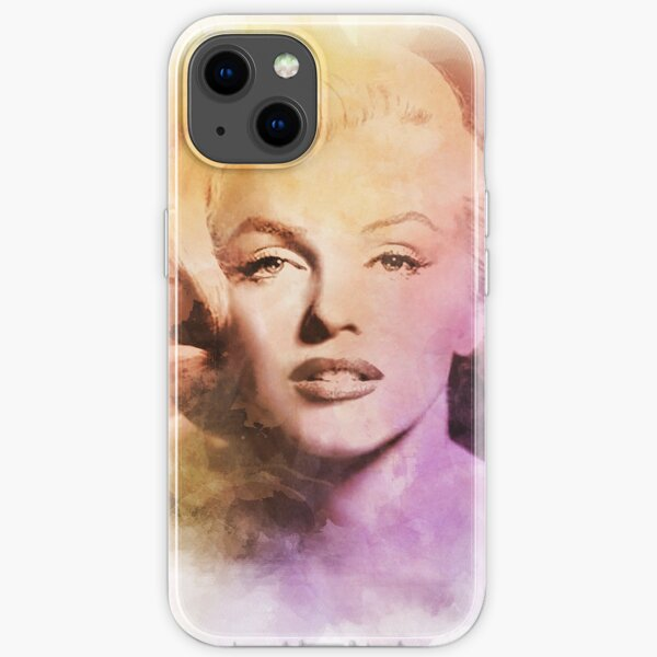 Marilyn Monroe - Watercolor - D29 iPhone Soft Case