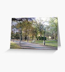 Berlin Park Greeting Card