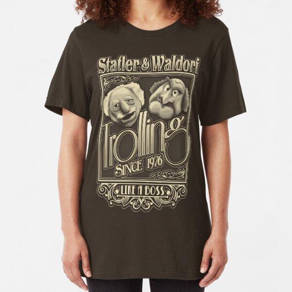 Grandfathers of Troll Slim Fit T-Shirt