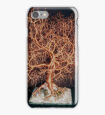 Kristallnacht, Tree of Life, wire tree sculpture iPhone Case/Skin
