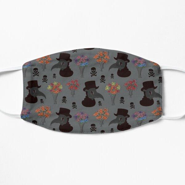 Plague Doctor (Grey) Flat Mask