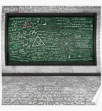 maths formula Poster