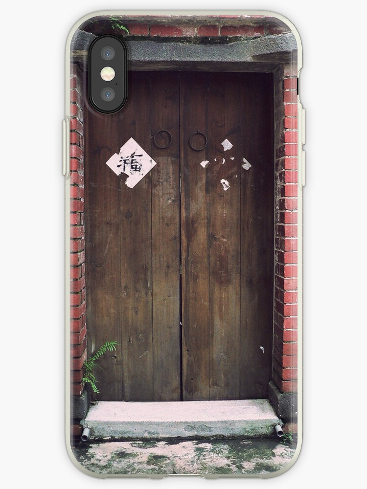 Chinese Vintage Door with best blessing by scottorz