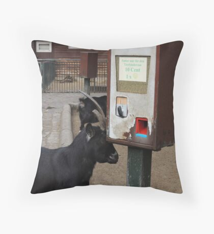 I'll get my own thanks.... Throw Pillow