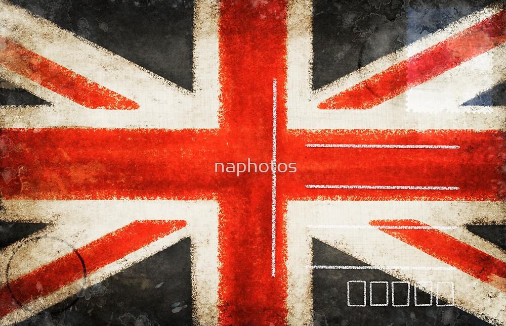 England flag postcard by naphotos