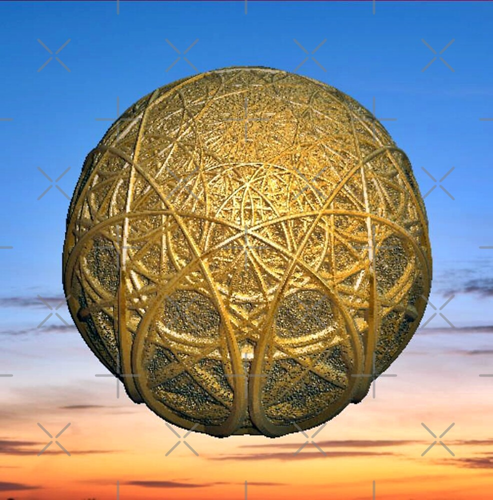 Fractal globe by Annabellerockz