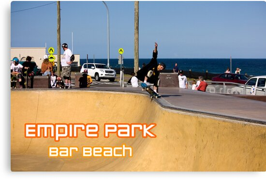 Layback Rollout - Empire Park Skate Park by reflector