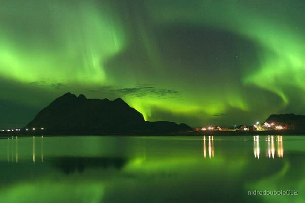 Northern Norway Lights  by nidredbubble012