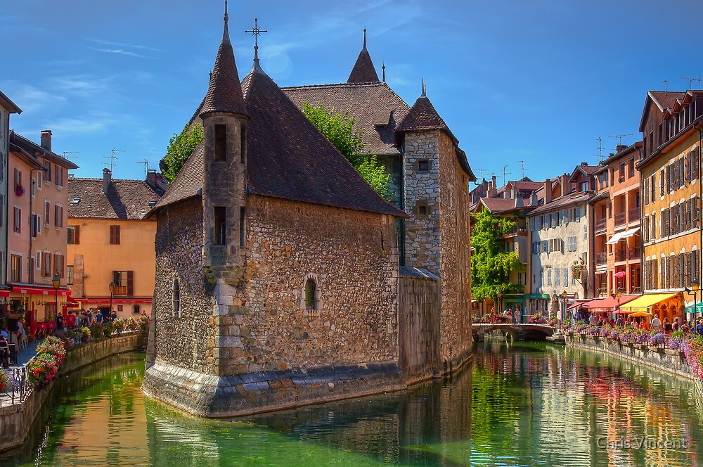 The Old Prison at Annecy by Chris Vincent