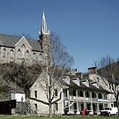 Small Church in Harpers Ferry, West Virginia by Bine