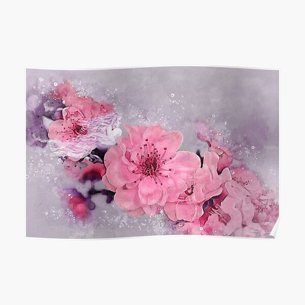 Cherry Blossom Spirit Poster