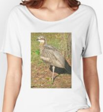 Bush Stone-Curlew Women's Relaxed Fit T-Shirt