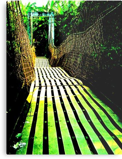 hanging bridge by edmarasigan