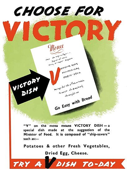 Try A V-Dish To-Day -- World War Two by warishellstore
