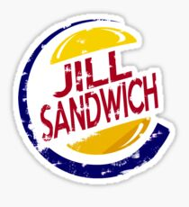 Jill Sandwich BIG Sticker