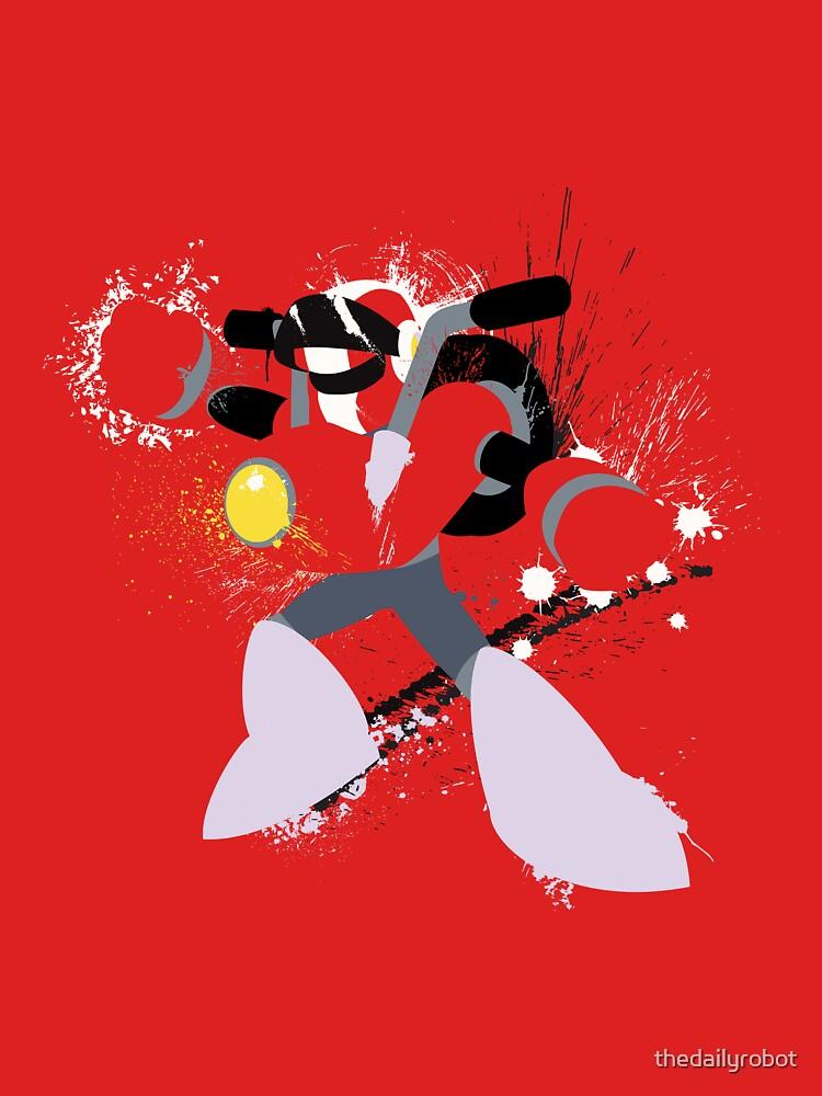 Nitro Man Splattery Vector Design by thedailyrobot