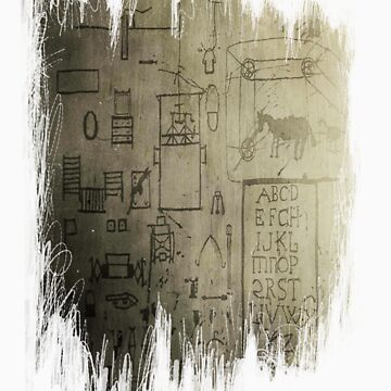 Schizophrenic Hieroglyphics III by Atrumentis