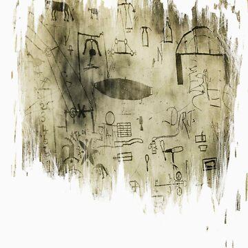 Schizophrenic Hieroglyphics II by Atrumentis