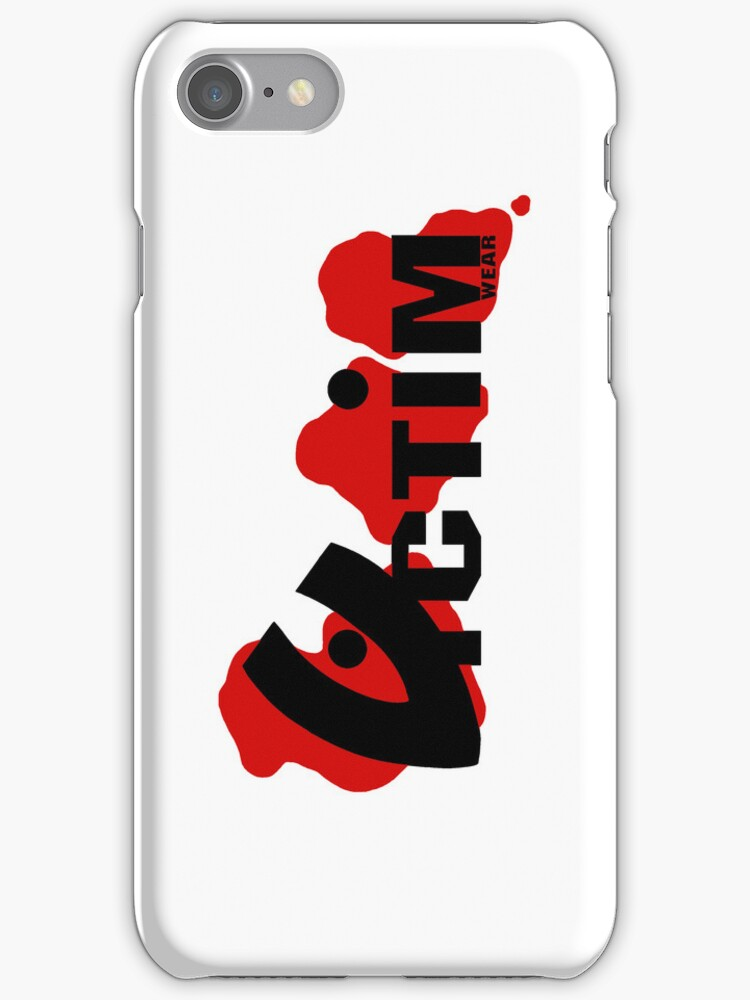 Official Victim Wear iPhone/iPod Case by VictimWear